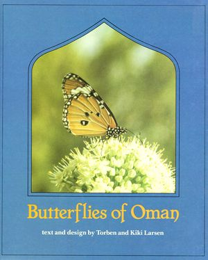 Butterflies of Oman - Front Cover